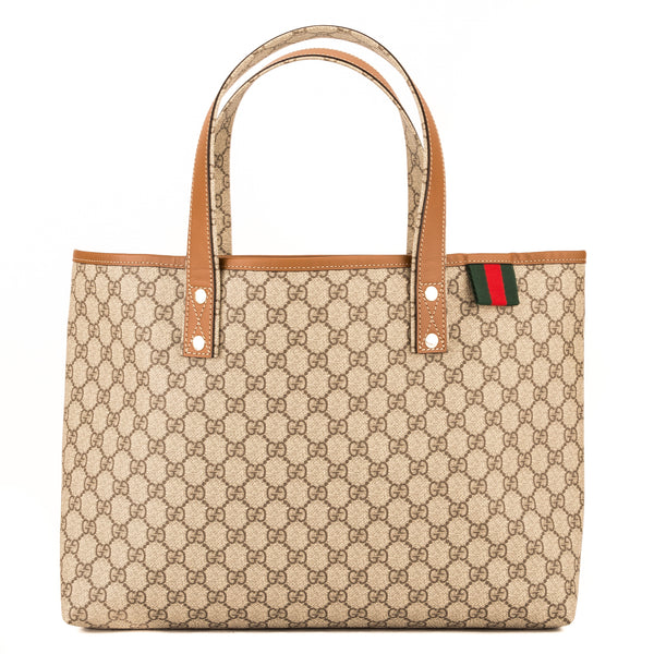 67121bee2229df Gucci GG Supreme Large Tote (3993015) - 3993015 | LuxeDH