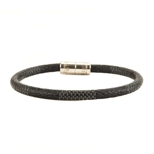 Louis Vuitton Damier Graphite Keep It Bracelet (4020006)