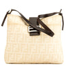 Fendi Ivory Zucca Shoulder Bag (4031009)