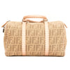 Fendi Pink Selleria Zucca Medium Boston (4035001)