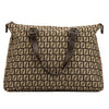 Fendi Brown Zuccino Shopping Tote (4039013)