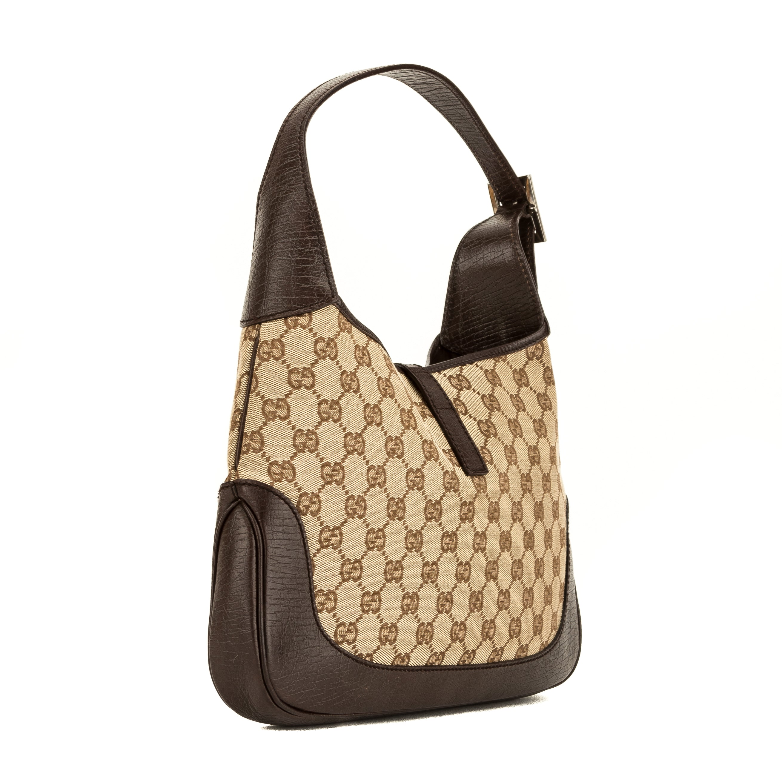 4dab1f2dcbef Gucci Beige GG Canvas Jackie O Hobo (4056005) - 4056005 | LuxeDH