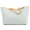 Fendi Blue Zucchino Shopping Tote Bag (4079004)