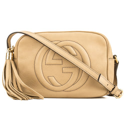 Gucci Beige Soho Small Disco (4093022)