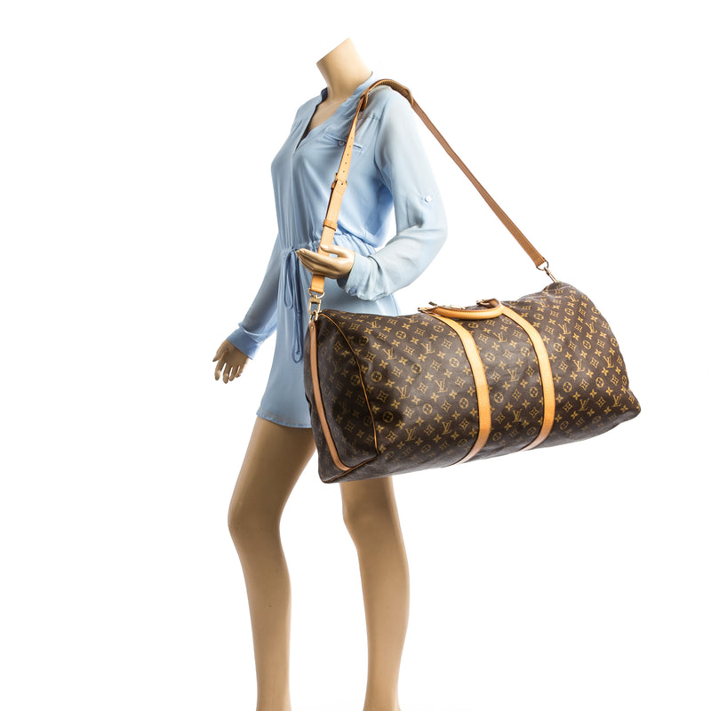 Louis Vuitton Monogram Keepall Bandouliere 60 (4116011)