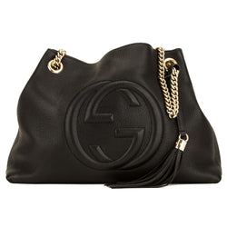Gucci Black Soho Medium Hobo (4118023)