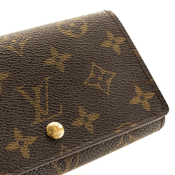 Louis Vuitton Monogram Canvas Porte-Tresor Billets Wallet (4118035)