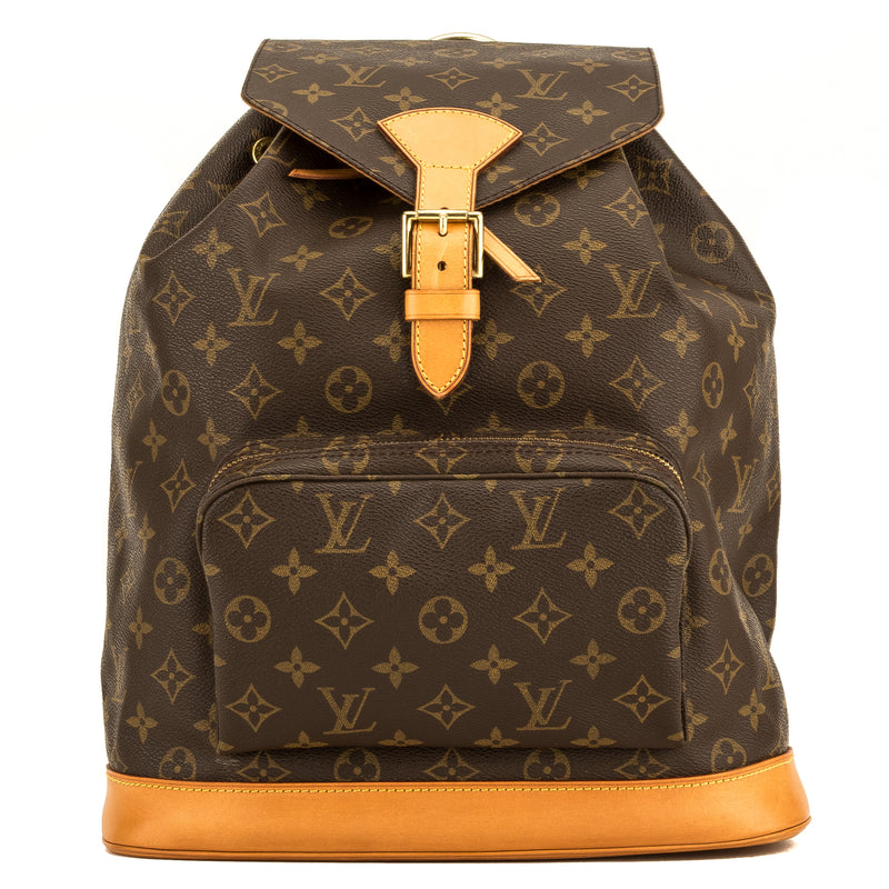 Louis Vuitton Monogram Montsouris GM Backpack (4125003)
