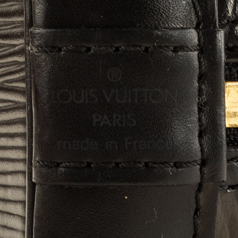Louis Vuitton Noir Epi Leather Alma (4131012)