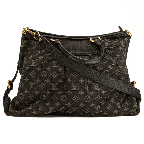 Louis Vuitton Black Mini lin Cabby GM Bag (4156015)