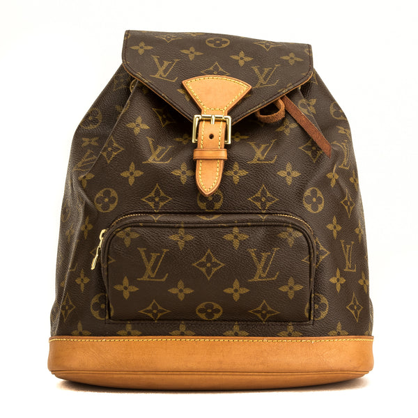 Louis Vuitton Monogram Montsouris MM Backpack (4160013)