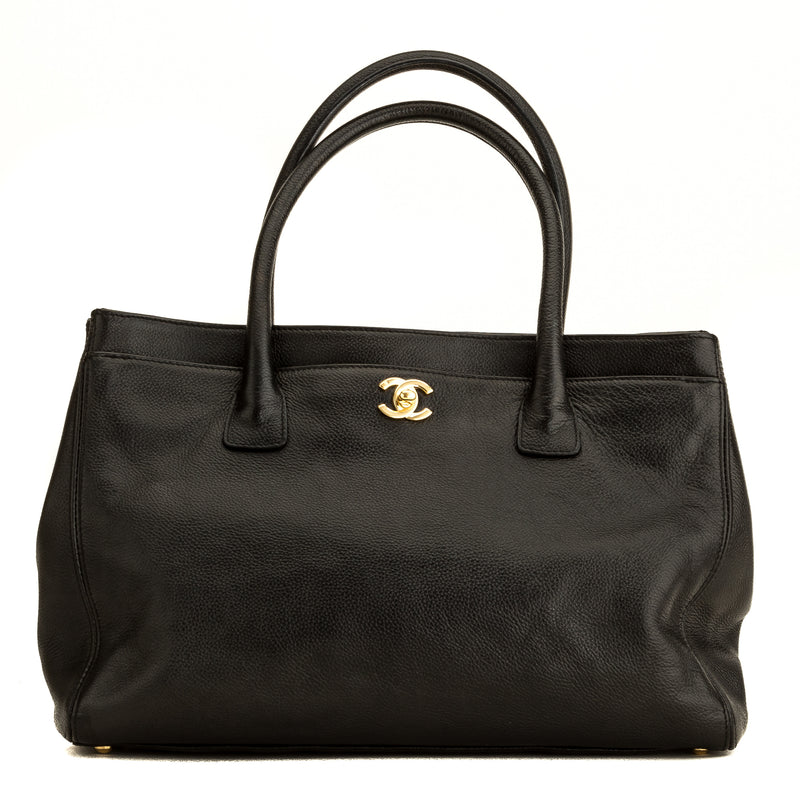 Chanel Black Caviar Executive Cerf Tote (4168006)