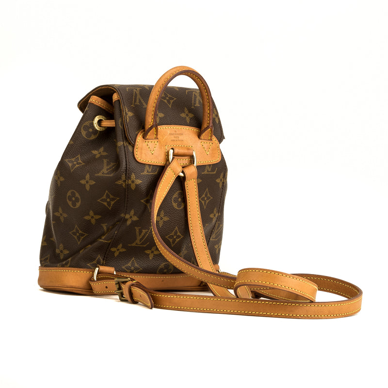 Louis Vuitton Monogram Montsouris PM Backpack (4170003)