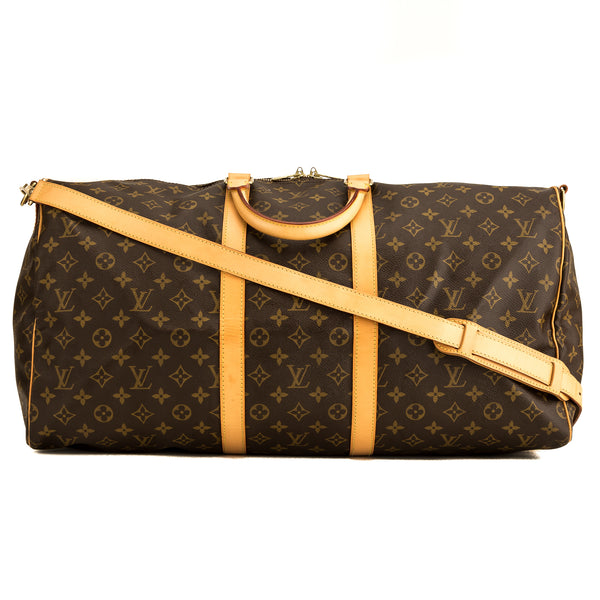Louis Vuitton Monogram Keepall Bandouliere 55 (4171013)