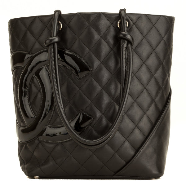 Chanel Black Quilted Calfskin Cambon Tote (5101031)