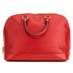 Louis Vuitton Red Epi Alma (5101037)