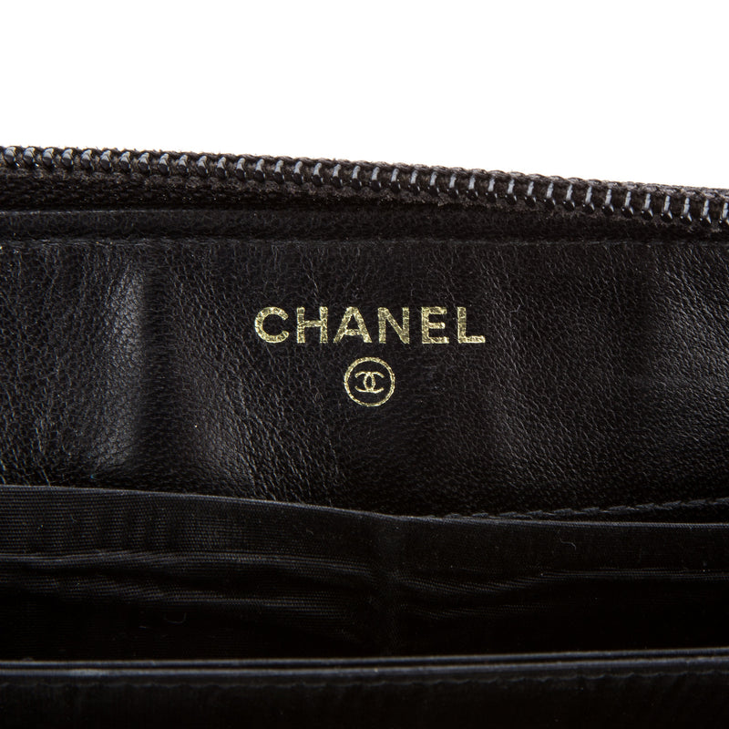 Chanel CC Black Caviar Wallet (Authentic Pre Owned)