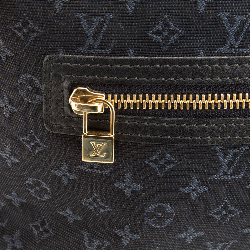 Louis Vuitton Blue Mini Linn Lucille PM (Authentic Pre Owned)