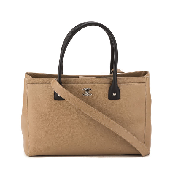 747e192f94f2 Chanel Beige Caviar Executive Cerf Tote (Authentic Pre Owned ...