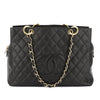 Chanel Black Caviar Shopper Tote Bag (Pre Owned)