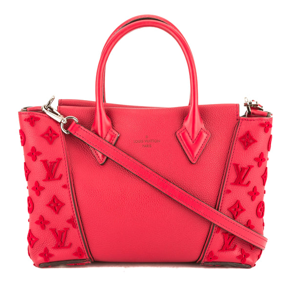679adbc049bc Louis Vuitton Red Veau Cachemire Leather W BB Tote Bag (Pre Owned ...
