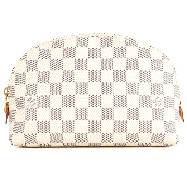 a3ccb05a9c Louis Vuitton Damier Azur Canvas Cosmetic GM Pouch (Pre Owned)