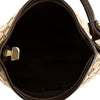 Gucci Brown GG Monogram Abbey Hobo (7000263)