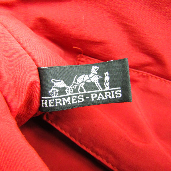 Hermes Braise Cotton Canvas Mini Bolide Travel Pouch  (SHA14535)