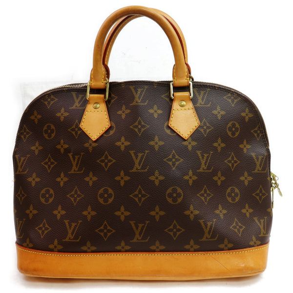 Louis Vuitton Hand Bag Alma Brown Monogram  (SHC1-16805)
