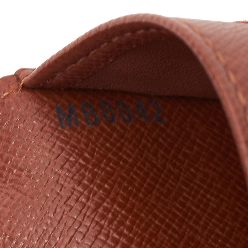 Pre-Loved Louis Vuitton Brown Monogram Canvas Sarah Wallet France