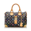 Pre-Loved Louis Vuitton Black Monogram Multicolore Speedy 30 France