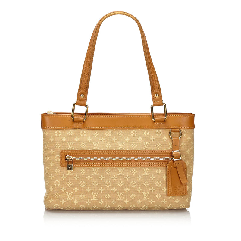 Pre-Loved Louis Vuitton Brown Monogram Mini Lin Lucille PM France