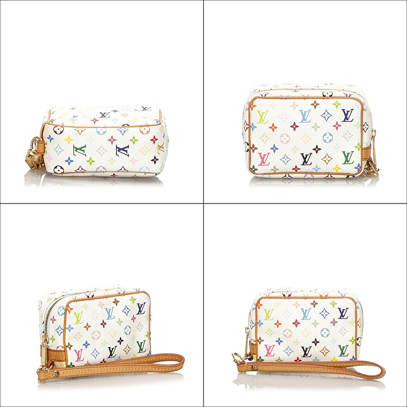 Pre-Loved Louis Vuitton White Monogram Multicolore Wapity France