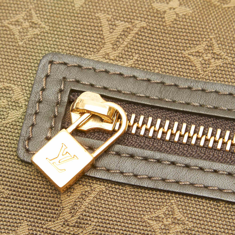 Pre-Loved Louis Vuitton Brown Cotton Fabric Monogram Mini Lin Lucille PM France