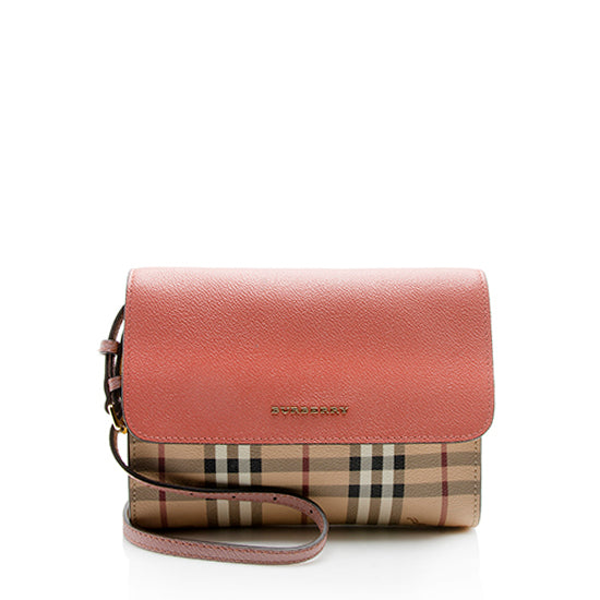 Burberry Haymarket Check Loxley Crossbody Bag