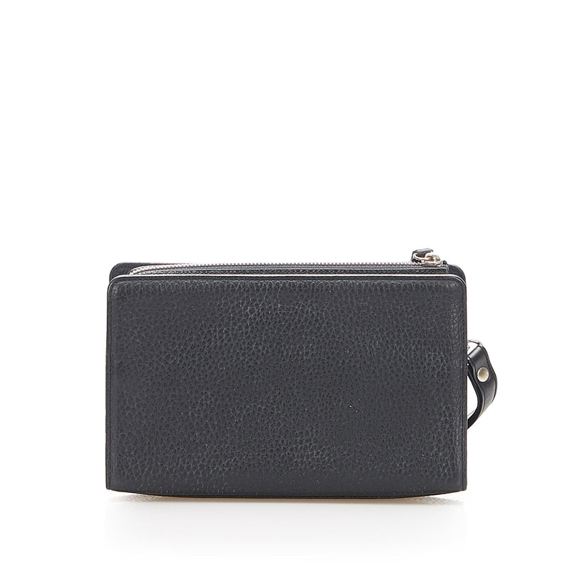 Burberry Leather Clutch (SHG-16915)