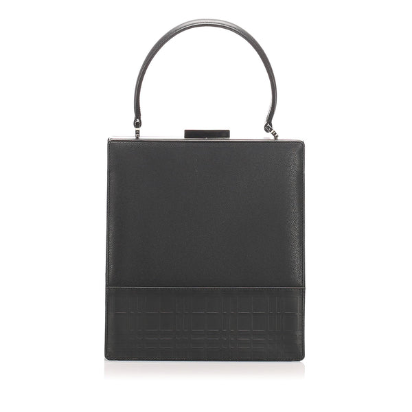 Burberry Leather Handbag (SHG-10274)