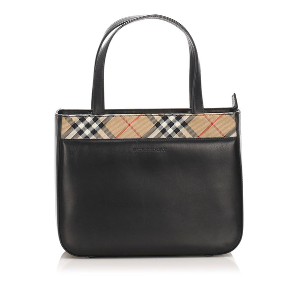 Burberry Leather Handbag (SHG-10333)