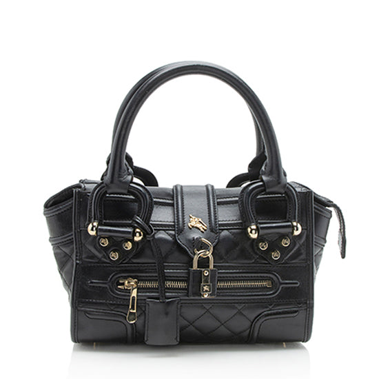 Burberry Leather Manor Mini Satchel