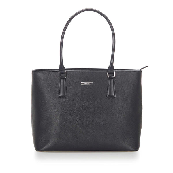Burberry Leather Tote Bag (SHG-18693)