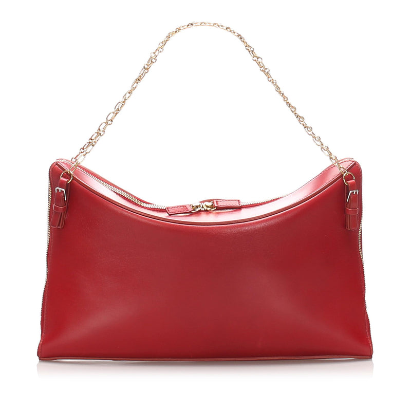 Celine Chain Leather Handbag (SHG-12225)