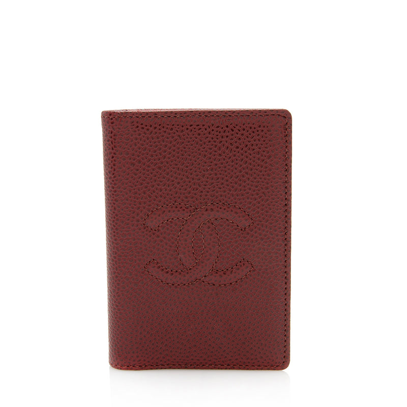 Chanel Caviar Leather Timeless Card Holder