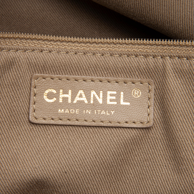Chanel Lambskin Natural Beauty Tote