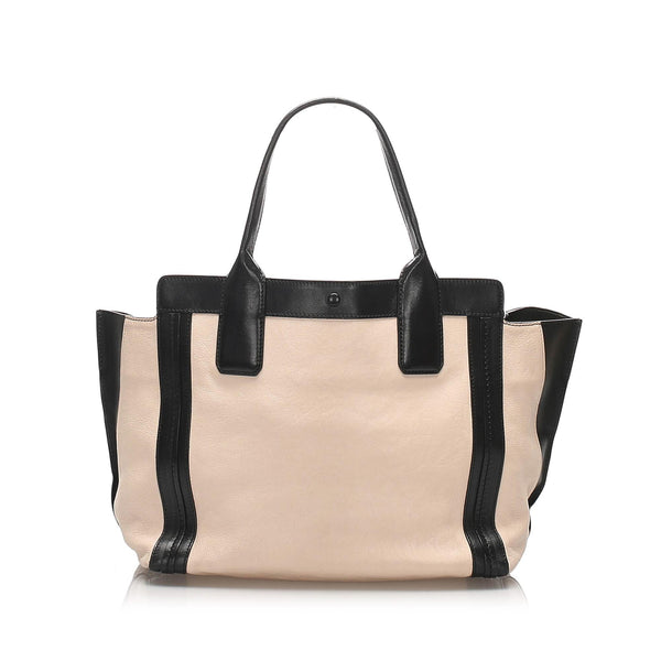 Chloe Alison Leather Tote Bag (SHG-10972)
