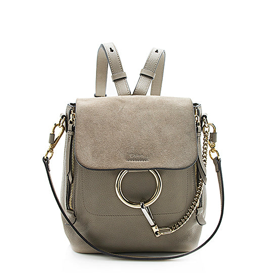 Chloe Calfskin Faye Small Backpack