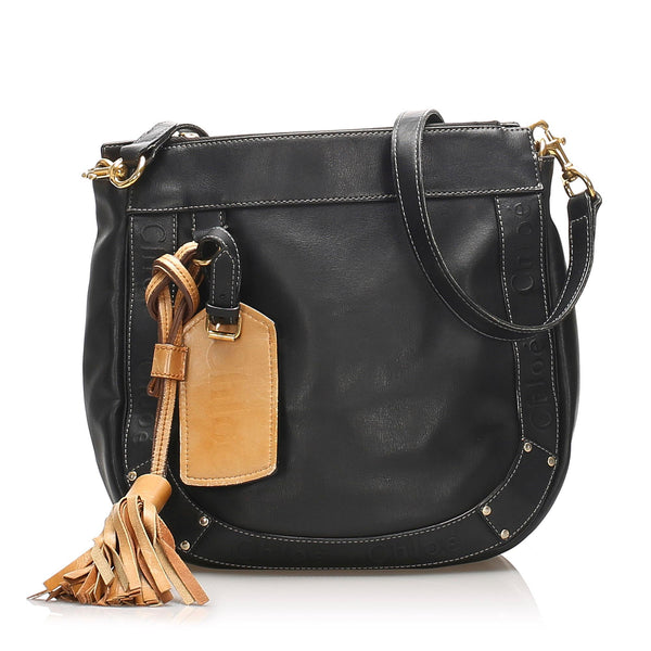 Chloe Eden Leather Crossbody Bag (SHG-11304)