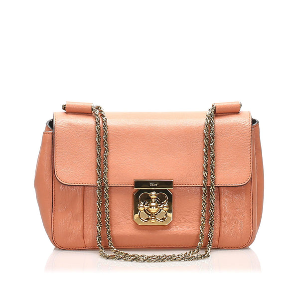 Chloe Elsie Leather Crossbody Bag (SHG-11265)
