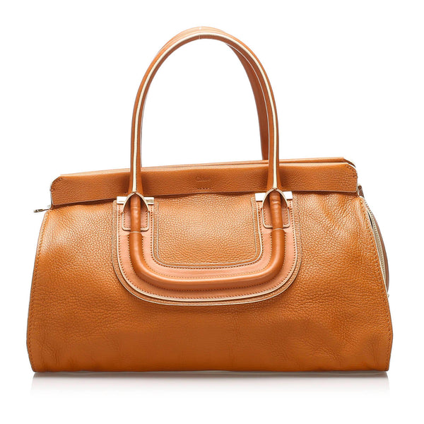 Chloe Everston Leather Handbag (SHG-10997)