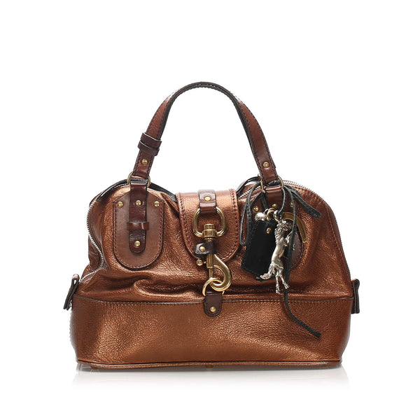 Chloe Kerala Leather Handbag (SHG-11053)