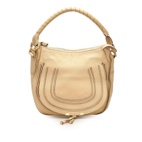 Chloe Marcie Leather Handbag (SHG-11290)